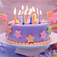 купить свечи для торта, фото Sevenmart