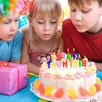 Свеча фейерверк для торта, фото Sevenmart